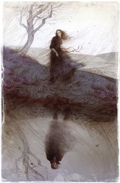 Rovina Cai, Illustration for the Folio Society edition of Emily Bronte's Wuthering Heights Art And Illustration, Magazine Illustration, Creative Illustration, Illustrations, Wuthering Heights, Les Oeuvres, Art Photography, Sketches, Art Prints