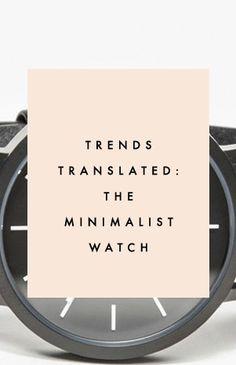 Minimalist Watches - Clementine Daily