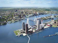 Peter Stuyvesant Building Rotterdam [NL] >> New mixed-use high-rise development on Wilhelminapier Rotterdam