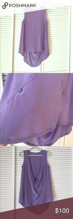 Alexander Wang silk backless top, Sz M Alexander Wang silk top   Sz Medium Alexander Wang Tops