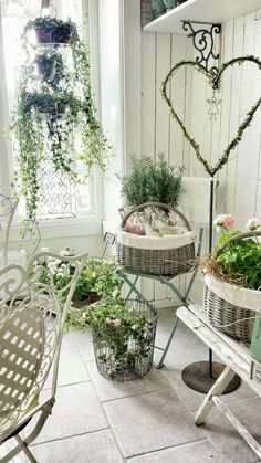 April 01 2018 at Porch Decorating, Decorating Your Home, Interior Decorating, Diy Porch, Shabby Chic Farmhouse, Back Patio, Cottage Living, Vintage Country, Living Room Grey