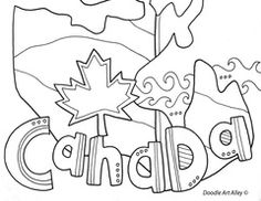 Canada (Provinses) These pages are for all my awesome Canadian friends and for those who want to get to know […] Make your world more colorful with free printable coloring pages from italks. Our free coloring pages for adults and kids. History Activities, Social Studies Activities, Teaching Social Studies, Teaching Art, Teaching Ideas, History For Kids, Study History, Canadian Social Studies, Canada Day Crafts