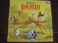 Bambi storybook album.  I still have mine..and many others!  This was my FAVORITE though.