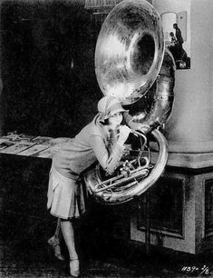Looks like a woodwind trying to play a sousaphone Sound Of Music, Music Is Life, Tuba Pictures, Brass Music, Sousaphone, Play That Funky Music, Music Images, Music Pictures, Music Humor