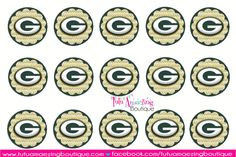 Free Bottle Cap Image Sheets | More Free Football Bottle Cap Images