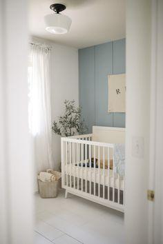 Baby Boys, Baby Boy Rooms, Baby Boy Nurseries, Baby Boy Bedroom Ideas, Baby Boy Nursey, Blue Nursery Girl, Nursery Neutral, Blue Nursery Ideas, Accent Wall Nursery