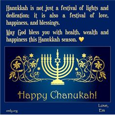 May all of your wishes and dreams come true, and may you feel this happiness all year round. God Bless You, Happy Hanukkah, Festival Lights, Dream Come True, Wish, Blessed, How Are You Feeling, Happiness, Dreams