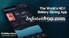Infotech99 |  Rise up to 50% extra battery lifestyles to your Android capsules and telephones with smart pre-set battery energy administration modes and simple one-touch controls