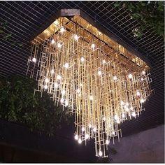Fabricación del plafón de techo para la entrada del restaurante @lapaisanacg de @casagraciabcn www.dajor.es #casagracia #lapaisanacg #lamparas