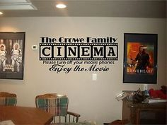 cute decoration idea for movie party