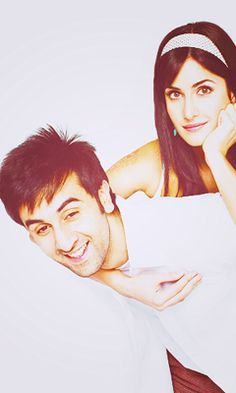 BOLLYWOOD ROMANCE  Katrina Kaif & Ranbir Kapoor      They are just so cute <3 Bollywood Couples, Bollywood Stars, Bollywood News, Bollywood Celebrities, Bollywood Actress, Ranbir Kapoor Hairstyle, Bollywood Pictures, Indian Film Actress, Hindi Movies