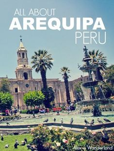 Arequipa, Peru's second-largest city, was the perfect place to relax for a few days, take in the sights and the history, and enjoy some fantastic meals.  | Alex in Wanderland