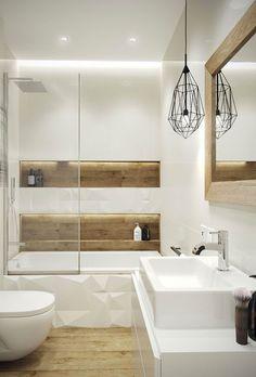 Small bathroom designs 863917141008877949 - Small Bathroom 144326363042409676 – petite salle de bain moderne bois blanc Source by anthearobiaux Source by Bathroom Plumbing, Bathroom Toilets, Wood Bathroom, Bathroom Layout, Bathroom Flooring, Bathroom Lighting, Bathroom Ideas, Bathroom Mirrors, Master Bathroom