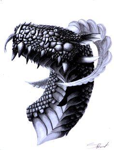 Dragon//Dragon art//tradtional art// copic markers