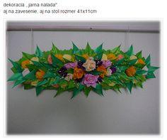dekoracia zo stuhy