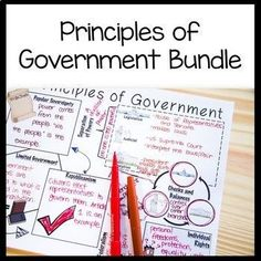 """Are your students struggling with the Principles of Government! Try a new resource that includes Word Wall terms, a reading, Doodle Notes to complete, and several games. Use the Word Wall terms to pre-teach the vocabulary. The anticipation guide on """"How Well Do You Know Your Study History, History Class, Teaching Philosophy, Social Studies Classroom, Instructional Strategies, Hands On Activities, High School Students, Teacher Resources, Middle School"""