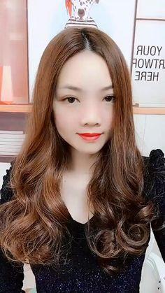 Easy Hairstyles For Long Hair, Cute Hairstyles, Wedding Hairstyles, Hairstyles Videos, Creative Hairstyles, Simple Hairstyle Video, Hairstyles For Short Hair Easy, Middle Part Hairstyles, Ladies Hairstyles