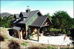 Barns with Living Quarters Santa Barbara California- DC Building Inc.
