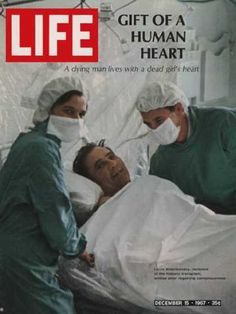 World's first heart transplant 4/12/67 Mr.Louis Washkansky was the world's first heart transplant recipient at Groote Schuur hospital on Monday 4th December 1967. This fantastic operation was performed by Professor Chris Barnard and his team when they successfully transplanted the heart of Denise Darvall (killed by a car in Woodstock) into the chest of Mr. Washkansky.