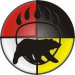 bear clan black bear beaded pattern to make. Native Symbols, Viking Symbols, Native Art, Wiccan Symbols, Mayan Symbols, Viking Runes, Ancient Symbols, Native Indian, Native American Pictures