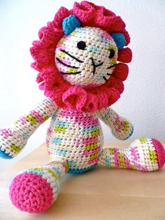 Lisa the Lion by ClamTown on Etsy