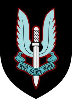The Special Air Service (SAS). This is the coolest patch ever. I would wear it with the utmost respect.