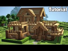 Minecraft: Starter House Tutorial - How to Build a House in Minecraft (Easy!) - Minecraft Servers View - makeupideas Minecraft: Starter House Tutorial - How to Build a House in Minecraft (Easy! Casa Medieval Minecraft, Villa Minecraft, Modern Minecraft Houses, Minecraft Houses Blueprints, Minecraft Architecture, House Blueprints, Minecraft Buildings, Minecraft Bedroom, Minecraft Wooden House