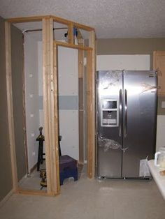 build a corner pantry