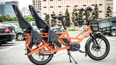 tern's GSD electric bicycle can fold to fit in a car