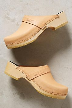 Swedish Hasbeens Husband Clogs - anthropologie.com