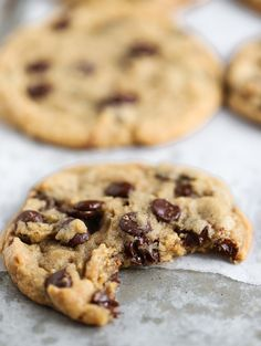 Chocolate Chip Cookies Recept, Chocolate Chips, All You Need Is, Fika, Cookie Desserts, Delicious Desserts, Favorite Recipes, Candy, Sweet Sweet