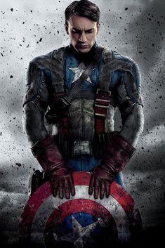 Captain America The First Avenger Movie Poster