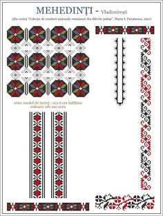Folk Embroidery, Embroidery Patterns, Cross Stitch Patterns, Knitting Patterns, Wedding Album Design, Crochet Borders, Mosaic Art, Cross Stitching, Beading Patterns
