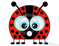 A Cartoon Ladybug by Anita Potter