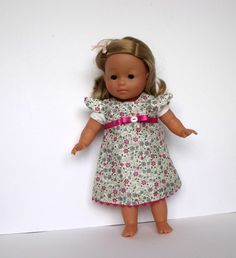 """Liberty of London """"Clemmie"""" Dolls Dress for doll 36cm/14in sized dolls"""