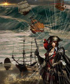 Pirates - Diese  Collage wurde erstellt von Gerd Schremer