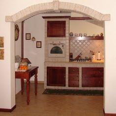 Arco e cucina in granito
