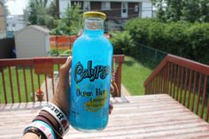 calypso ocean blue lemonade. ♡ This is the best stuff ever