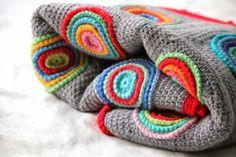 Beautiful #crochet blanket by Little Woolie