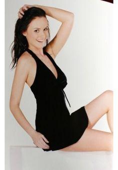 Black Swimming Dress