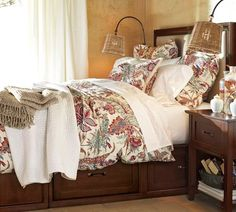 Pottery Barn Mendocino Bed Decor Pinterest Barn