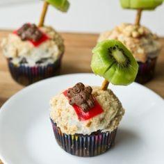 Palm Tree Cupcakes recipe