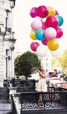 #Luftballon und #Ballon Ideen zur Inspiration von www.HarmonyMinds.de @EstellaSeraphim