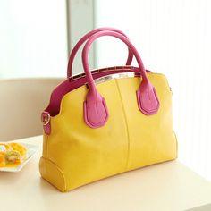 (FL005363) 2012 New Arrival Female Handbag Color Clip Handbag Hand Carry Shoulder Messenger Bag