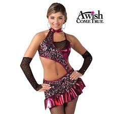 Glitter dance outfit