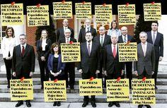 Las especialidades de nuestro gobierno. Y ahora vas y los votas. #VotarParaVolver