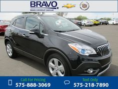 2015 Buick Encore Convenience 13k miles Black Call for Price 13667 miles 575-888-3069 Transmission: Automatic  #Buick #Encore #used #cars #BravoChevroletCadillac #LasCruces #NM #tapcars