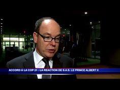 S.A.S. le Prince Albert II livre son opinion sur l'accord de la Cop 21 / Vidéos / Gouvernement Princier / Chaines - MC Channel - Chaînes vidéos de Monaco