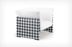 Dedon DDC houndstooth chair