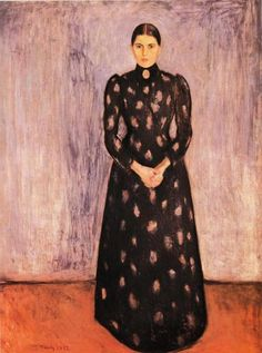 Sister Inger (1892) by Edvard Munch